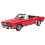 1964 1/2 Ford Mustang Convertible diecast model car 1:18 scale die cast by Motor Max - Red