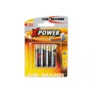 Ansmann Batteri Ansmann Micro AAA LR03 1,5V, 4-pack