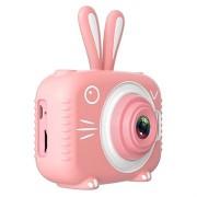 Dier Vorm Kids 20mp Digitale Camera X5 - Konijn / Roze