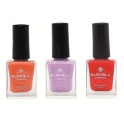 Rustic Decay Princess Rule and Wicked 9.9ml Each Elenblu Matte Nail Polish Set of 3 Nail Polish