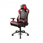 Drift SILLA GAMING DR400BR NEGRO ROJO BLANCO INCLUYE COJINES CERVICAL Y LUMBAR DR400BR