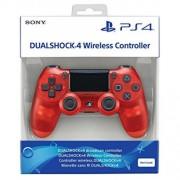 Джойстик Sony Playstation 4 Dualshock 4 Прозрачен Червен