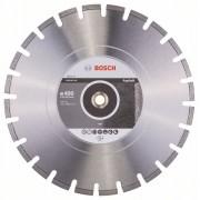 Диск диамантен за рязане Standard for Asphalt, 400 x 20/25,40 x 3,6 x 10 mm, 1 бр./оп., 2608602626, BOSCH