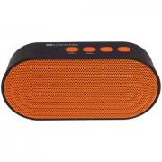 SPEAKER, CANYON CNE-CBTSP3BO, Bluetooth V4.2+EDR, 3.5mm Aux, bulit in 300mA battery, Black and Orange (5291485002435)