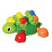 Jucarie de baie- Broasca testoasa cu pui