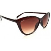 Being Adam Cat-eye Sunglasses(Brown)