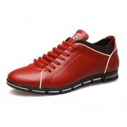 Zapatos Para Hombre Cuerco Buena Pormeable Al Aire - Rojo
