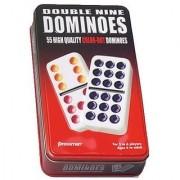 Double Nine Dominoes Tin
