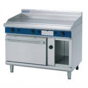 Blue Seal Evolution Nat Gas Chrome Griddle Electric Convection Oven 1200mm GPE58/N