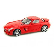 Mondomotors Mercedes-Benz SLS AMG, Red - MO50106 1/18 Scale Diecast Model Toy Car