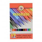 Set creioane fara lemn Progresso Koh-I-Noor 12/SET K8756-12