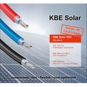 KBE 6mm Solar Cable - 100M - Red
