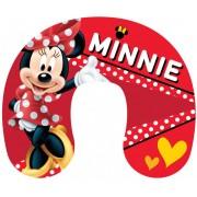 Disney Mimmi Pigg - Nackkudde, Resekudde - Röd