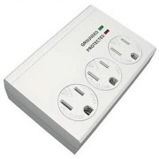 Master Electrician CT-045F-3 3 Power Outlet Surge Tap White