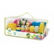 Clemmy - Plasa Cu 29 Cuburi Si 3 Personaje Disney Minnie Mickey Pluto .Varsta recomandata 18 luni+