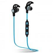 SQ-U6 Auriculares estereo Bluetooth para auriculares intra-auriculares - Negro + Azul