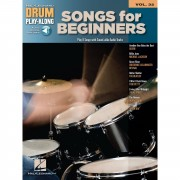 Hal Leonard - Drum Play-Along Volume 32: Songs for Beginners