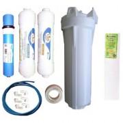 EarthRosystem Service Inline Filter set1 carbon 1 Sediment 1 tape 6 elbow one membrane 1 prefilter 5meter pipe 1 spun(pp)