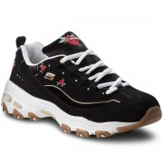 Сникърси SKECHERS - Rose Blooms 13084/BKW Black/White