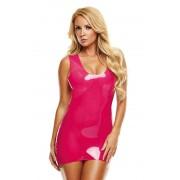 LATEXWEAR Latex Mini Dress - Pink