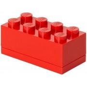 Set van 2 - Opbergbox Mini 8, Rood - LEGO