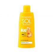 Bottega Verde SOL Elicriso - Leche solar - protege e hidrata - con extracto de Helicriso de Tenuta Massaini - protección media SPF20 (200 ml) - water resistant