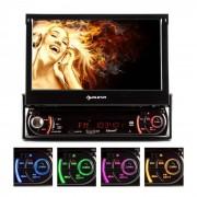 "Auna MVD-240 Autorradio con pantalla 7"" DVD CD SD Bluetooth"