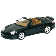 Minichamps 1/43 2003 Porsche 911 Turbo Cabriolet: Green Metallic