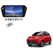 7 Inch Full HD Bluetooth LED Video Monitor Screen with USB and Bluetooth For Mahindra KUV 100