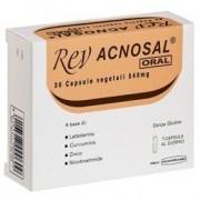 Rev acnosal oral 30 capsule 30cps integratore alimentare rev pharmabio