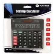 Calculator de birou Platinet PMC223T,12 digiti,calculare taxe,40468,220x180mm