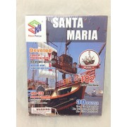 3d Puzzle Santa Maria Boats B468 11 Cubicfun Magic Puzzle 102 Pieces