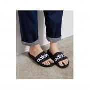 ROPE PICNIC PASSAGE 【adidas】ロゴスライドサンダル(ブラック(01)) レディース