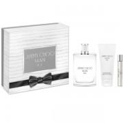 Jimmy Choo Man Ice Комплект (EDT 100ml + AS Balm 100ml + EDT 7.5ml) за Мъже