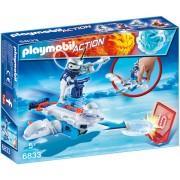 PLAYMOBIL - ICEBOT SI LANSATOR DE DISCURI (PM6833)