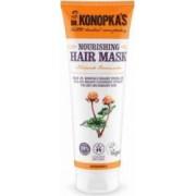 Masca bio Dr. Konopka nutritiva pentru par uscat sau deteriorat 200 ml