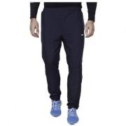 Nike Navy Polyester Lycra Trackpants for Men