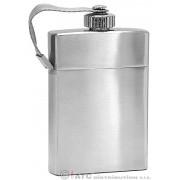 Kapesní ocelová nerezová lahev 98162