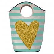 Wasmand gold heart