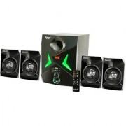 Zeston ZX9004 Home Theatre System Audio Speaker(Black 4.1 Channel)