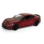 "Flying Toyszer 2016 Maserati Gran Turismo MC Stradale 5"" 1:38 Scale Diecast Model Car Door Openable and Pull Back Action"