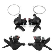 BIKIGHT 3x8-Speed Shift Lever Shifter Bike Bicycle Parts for Shimano Acera SL-M310