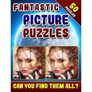 Fantastic Picture Puzzles: Spot the Difference Book for Adults. Picture Book for Adults. Can You Find All the Differences?, Paperback/Lucy Coldman