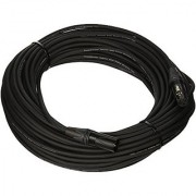 Comprehensive Cable PS-125-100 100' Performer Series Lo-Z Microphone Cable with Neutrik Black/Nickel