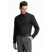 C&A Businesshemd Regular Fit, Zwart, Maat: 40