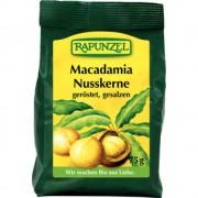Sâmburi bio Macadamia prăjiti si sărati