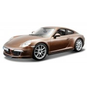Bburago 1:24 Porsche 911 Carrera cu maro metalizat