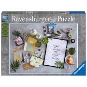 Puzzle clasic pentru adulti si copii, 1000 piese - Traieste-ti visul