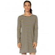 ToadCo Windmere II Long Sleeve Dress Sand Beach Stripe