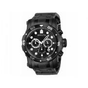 Invicta Watches Invicta Pro Diver Chronograph Black Dial Mens Watch 23654 BlackBlack